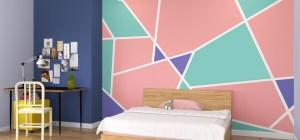 Bật mí những cách sơn tường đẹp và sáng tạo, ấn tượng nhất thế giới