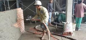 Máy phun hồ - Người bạn không thể thiếu trong mỗi công trình xây dựng