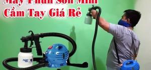 3 lưu ý để mua được máy phun sơn mini giá rẻ chất lượng tốt