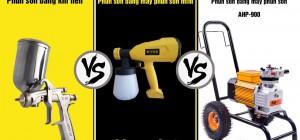 Nên chọn mua máy phun sơn như thế nào tiết kiệm mà hiệu quả vẫn cao?
