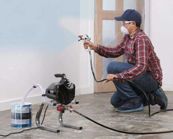 Cách sử dụng máy phun sơn đơn giản, chính xác