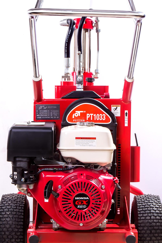 Máy phun bột bả GH-833 sử dụng công nghệ bơm piston