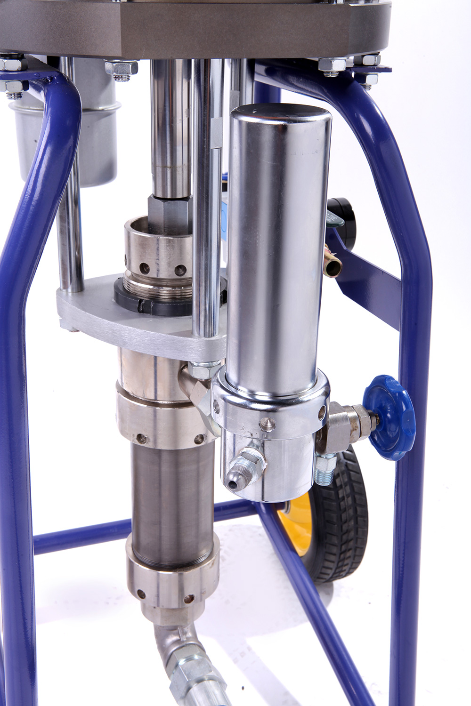 Máy phun sơn dầu AHP-2539 được ứng dụng công nghệ hiện đại và tiên tiến.